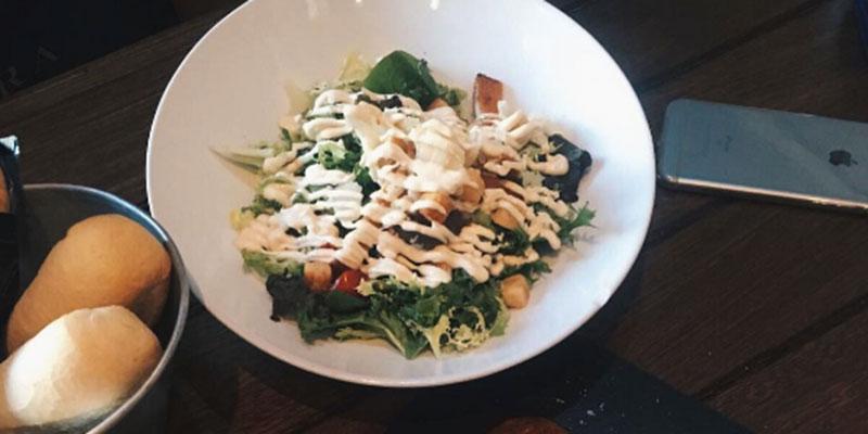 ensalada restaurante sevilla